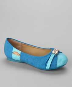 Take a look at this Blue Jasmin Flat on zulily today!