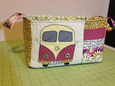 VW camper van fabric bucket is finished Flickr - Photo Sharing!