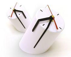 Cylinder clock