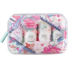 Accessorize Ultimate Travel Collection In Pvc Wash Bag (2335 RSD) ❤ liked on Polyvore featuring beauty products and bags