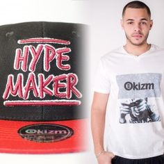 Promo Pack : Snapback + T-Shirt Okizm 34.80€