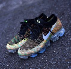 huge selection of a6989 84e01 Examples  Nike iD Air Max 1 Flyknit   Air VaporMax  Multicolour - EU Kicks   Sneaker Magazine. Zimmy · SHOES