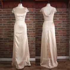 2016 New Prom Dress,Women Dress Elegant,Evening Dress Summer,Cowl Style Long…