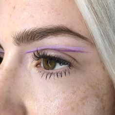 """464 Likes, 1 Comments - My name is BEA SWEET (@beasweetbeauty) on Instagram: """"Double purple liner beauty tutorial on @GemmaStyles for @BeautyMeetsVideo by me! Link in bio ⬆️…"""""""