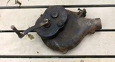 Vtg-Champion-Forge-Blower-Lancaster-Hand-Crank-Blacksmith-Farrier-works