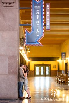 Engagement Session, Union Station, Kansas City