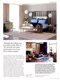 Simon Horn's mirrored Valentino bed as shot by Harrods simonhorn.com Harrods Magazine September 2015