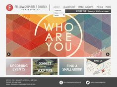fellowship bible church fe website layoutwebsite ideaswebsite designsweb - Church Website Design Ideas