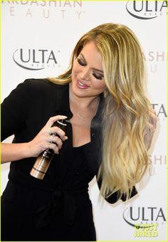 khloe kardashian bashes jamie foxx for bruce jenner joke 02 Khloe Kardashian strikes a pose while promoting the Kardashian Beauty Hair Care And Styling Line at ULTA Beauty on Thursday (April 2) in West Hills, Calif.    At…