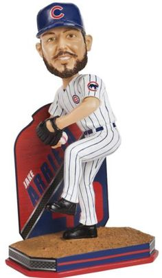 Jake Arrieta (Chicago Cubs) 2016 MLB Name and Number Bobble Head Forever Collectibles