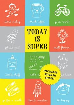Today is Super Journal - The Small Object - Papiermier