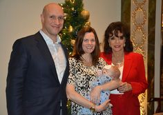 2015.12.18 ? Joan hosts a special tea party for the Shooting Star Chase children's hospice