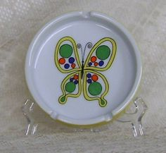 80s Mod Butterfly Ashtray by theevintageshop on Etsy, $5.95 vintage 80's mod gift for under 10.00