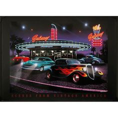 LED Scenes from Vintage America Picture