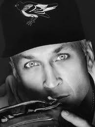 Cal - great baseball player / blue eyes = - )