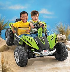 cool Fisher-Price W2602 Power Wheels Dune Racer, Green