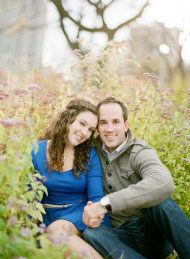 Lincoln Park Engagement Session from Yazy Jo   Style Me Pretty