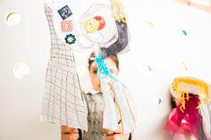 Collage de textiles, accesorios y papel Textiles, Puppet, Paper Envelopes, Accessories, Cloths, Fabrics