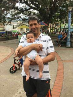 Con mi abuelito Diego...