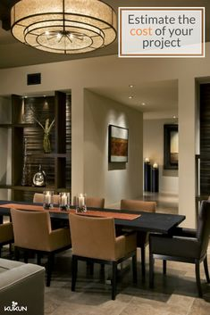 Make Your Dining Room A Comfortable Space For You And Your Loved Ones By  Redesigning The