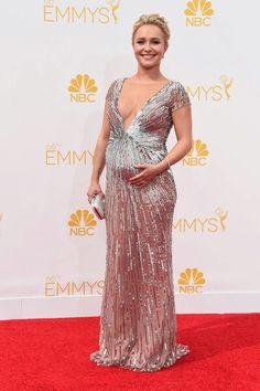Favorite Emmy dresses. Hayden Panettiere in Octavio Carolin