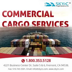 We are offering affordable commercial cargo by international air freight. Get cost of air shipping and ship your cargo today. Cargo Services, Business Centre, Commercial