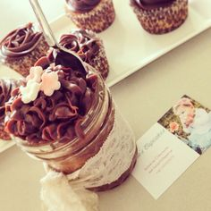Cupcake in a jar! #hensparty #lollybag