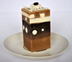 Coffee Cake cold processed soap