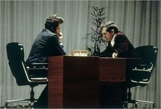 Bobby Fischer beats Boris Spassky at the World Chess Championship in 1972, becomes first American world chess champion. Cold war continues to be frosty.