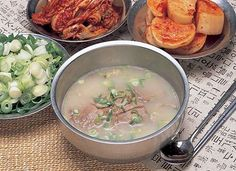 Korean food / Seolleongtang