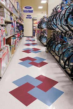 Creative Ways To Use Floor Tile Interior Design Pinterest - 12 x 12 rubber floor tiles