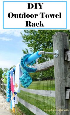 Pool Towel Rack DIY in 30 Minutes. Perfect for Sum - Pool Towel Rack DIY in 30 Minutes. Perfect for Sum Swimming pond Pool Towel Rack DIY in 30 minutes. Perfect for sum - Pool Towel Holders, Towel Rack Pool, Pool Towels, Diy Swimming Pool, Diy Pool, Backyard Pool Landscaping, Patio, Landscaping Ideas, Fun Backyard
