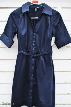 Tummansininen mekko / Dark blue dress
