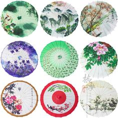 """Find More Umbrellas Information about 33"""" Chinese Paper Parasols Traditional Oiled Paper Costume Decoration COS Play Craft Umbrella,High Quality parasol cocktail,China umbrella mp3 Suppliers, Cheap umbrella can from China Wholesale Supplies on Aliexpress.com"""