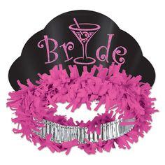 Glittered Bride Tiara (12ct) #GlitterPaper
