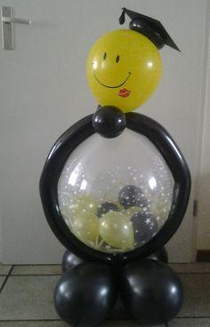Kado in ballon geslaagd