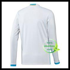 Fotballdrakter Olympique de Marseille Langermet Hjemmedraktsett 2016-2017 Sweatshirts, Sweaters, Fashion, Moda, Pullover, Trainers, Sweater, Fasion, Sweatshirt