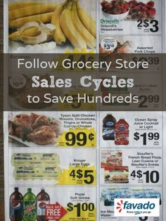 Follow Grocery Store Sales Cycles to Save Hundreds | Favado.com