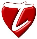 Alfabeto blanco en corazones.   Oh my Alfabetos!