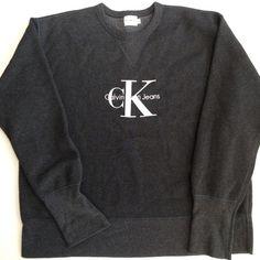 Calvin Klien sweater Selling my original Calvin Klien vintage sweater. Great condition. Unisex Calvin Klein Sweaters