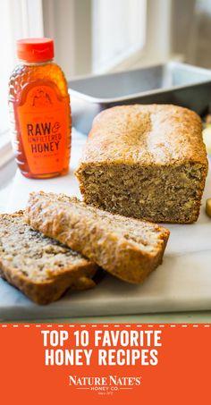 Honey Recipes, Bread Recipes, Baking Recipes, Vegan Desserts, Just Desserts, Sugar Canister, Apple Cobbler, Vegetarian Recipes, Healthy Recipes