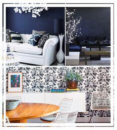 Papel de parede na decoração   Como decorar com papel de parede