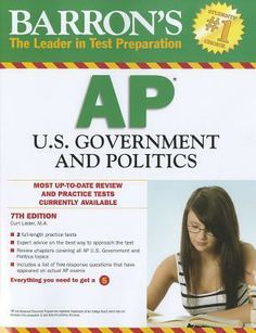 48 best ap bookstextbooksebooks images on pinterest book show barrons ap u government and politics edition barrons ap united states government politicscurt lader m fandeluxe Choice Image