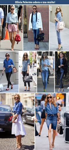 Estilo Meu - Consultoria de Imagem / camisa jeans / jeans shirt / stylish outfits / looks / get inspired / personal stylist / fashion / fashion inspiration / stylish women / how to wear / styling tips / camisa jeans / como usar / dicas de moda /