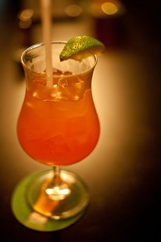 Dave Matthews: 1 oz amaretto, 1 oz coconut rum, 3/4 oz pineapple juice, 1 oz cranberry juice, fresh lime