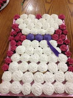 Bridal Shower Cupcake Arrangement
