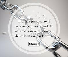 Ti senti #prigioniero nel tuo lavoro? Esiste un metodo come liberarti. Scarica il mio libro qui >