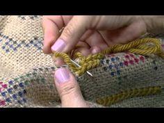 YouTube Lace Knitting, Knitting Stitches, Embroidery Stitches, Tunisian Crochet Patterns, Knitting Patterns, Knitting Tutorials, Crochet Granny, Lace Patterns, Stitch Patterns