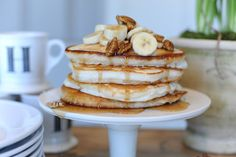 JSH Christmas Brunch: Banana Pecan Pancakes