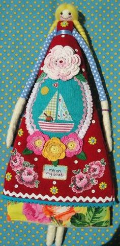 embroidery doll